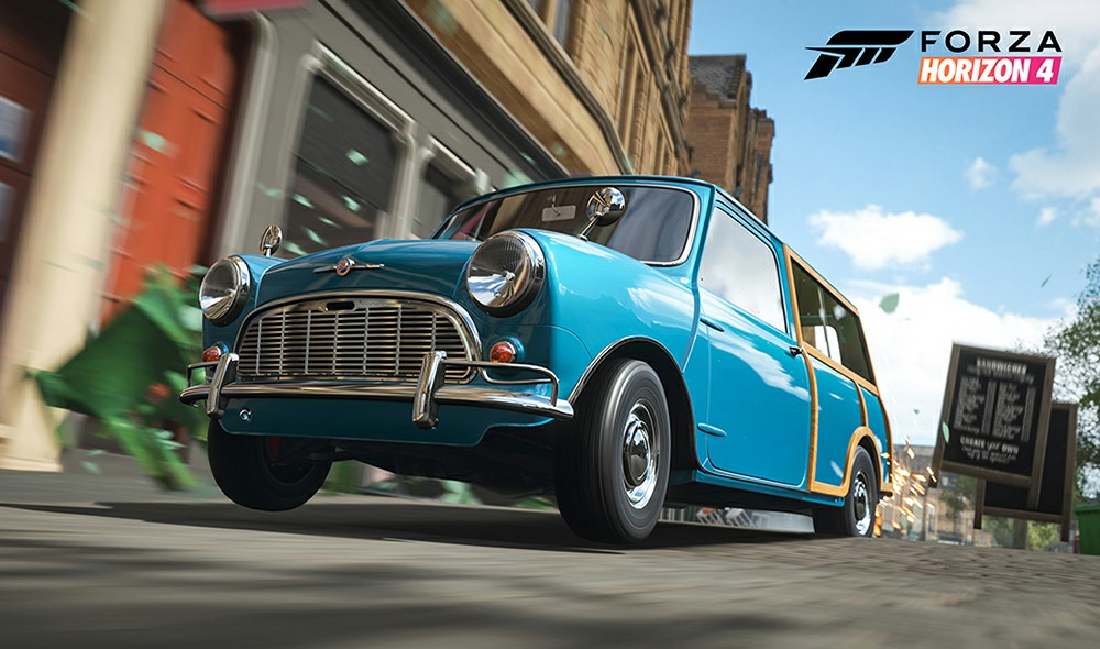 Forza Horizon 4 Series 9 Update Adds Four Minis and More