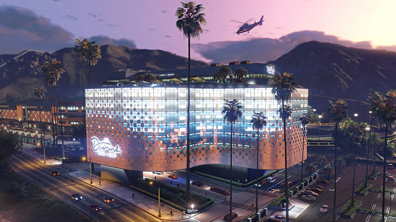 GTA Online's Diamond Resort & Casino Opens Its Doors Next Week