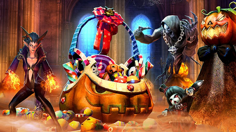 Available until Thursday, November 5, the Harvest Festival Hall event returns in Tera