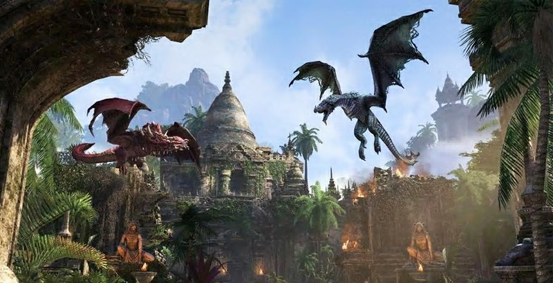 The Elder Scrolls Online Previews Dragonhold's Southern Elsweyr