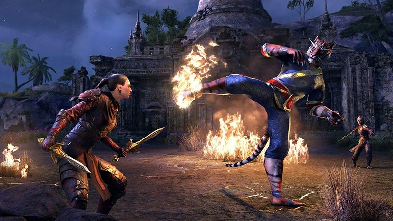 Elder Scrolls Online While ravaged by plague and fire, many call Pellitine home