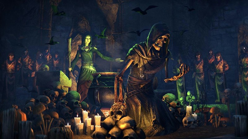 The witch festival in ESO will be extended due to server instability